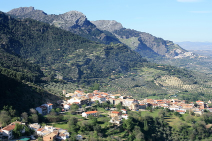 National Park Sierra de Cazorla in Jaen